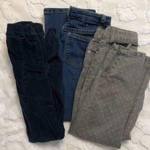 Girls Sz 6 jeans/pants!  Super Cute for School!